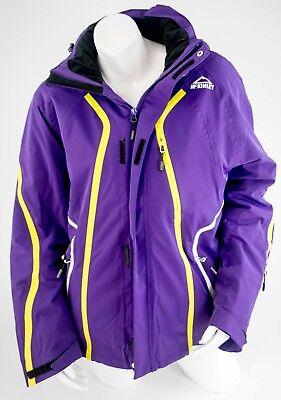 Womens Icepeak RECCO Purple Ski Jacket Ladies EUR 36 40 Burton USA Fit MED LAR