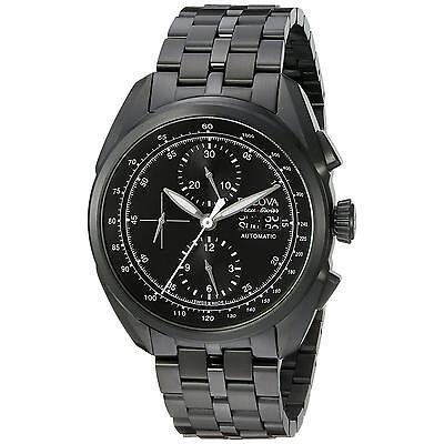 Bulova Accutron Men's 65C116 Accu Swiss Tellaro Chronograph Automatic Watch