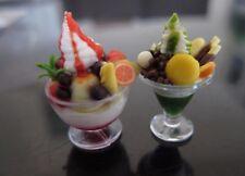 Dollhouse Miniature Ice Cream Sundae in Helmet