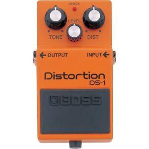 boss ds 1 distortion guitar bass keyboard fx stompbox effects pedal 761294008522 ebay. Black Bedroom Furniture Sets. Home Design Ideas