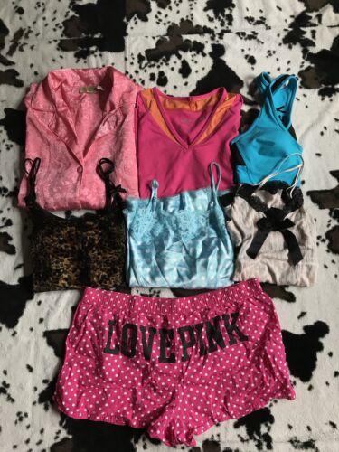 taglia di molto Lotto altro camicie Secret Victorias Vsx reggiseni 7 l Pink M pantaloncini e TyT7Rcp