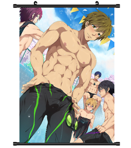 Free-Iwatobi-Swim-club-Anime-Wall-Poster-Scroll-Cosplay