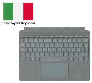 Microsoft Platinum Signature Type Cover Italian Keyboard for Surface Go Tablet