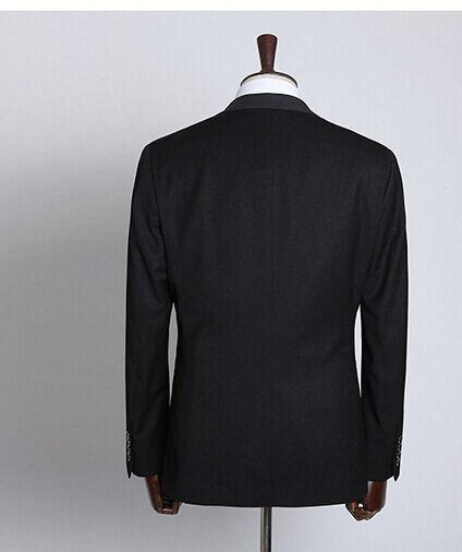 Elegante abito vestito pantalone completo   scuro giacca pantalone vestito grigio SLIM 1006 c09e6d