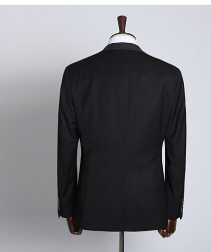 1006 Scuro Abito Uomo Grigio Slim Vestito Completo Pantalone Giacca Elegante qzIwgdz