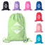 Mato /& Hash Adult and Child Volleyball Cotton Drawstring Backpacks Bags