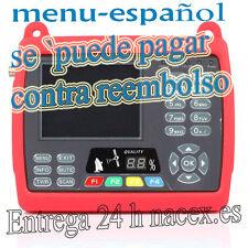 BUSCADOR DE SATELITE- MEDIDOR DIGITAL SATELITE SATLINK WS 6950-MENU ESPAÑOL