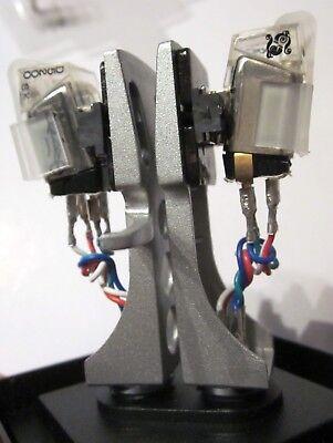2 X Stanton 520sk Signatur Model Djcraze Tonabnehmer + Headshell + 2 Ersatznadel