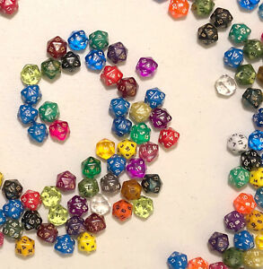 d20-20-sided-dice-lot-of-8-for-mtg-Magic-the-Gathering-D-amp-D-dungeons-and-dragons