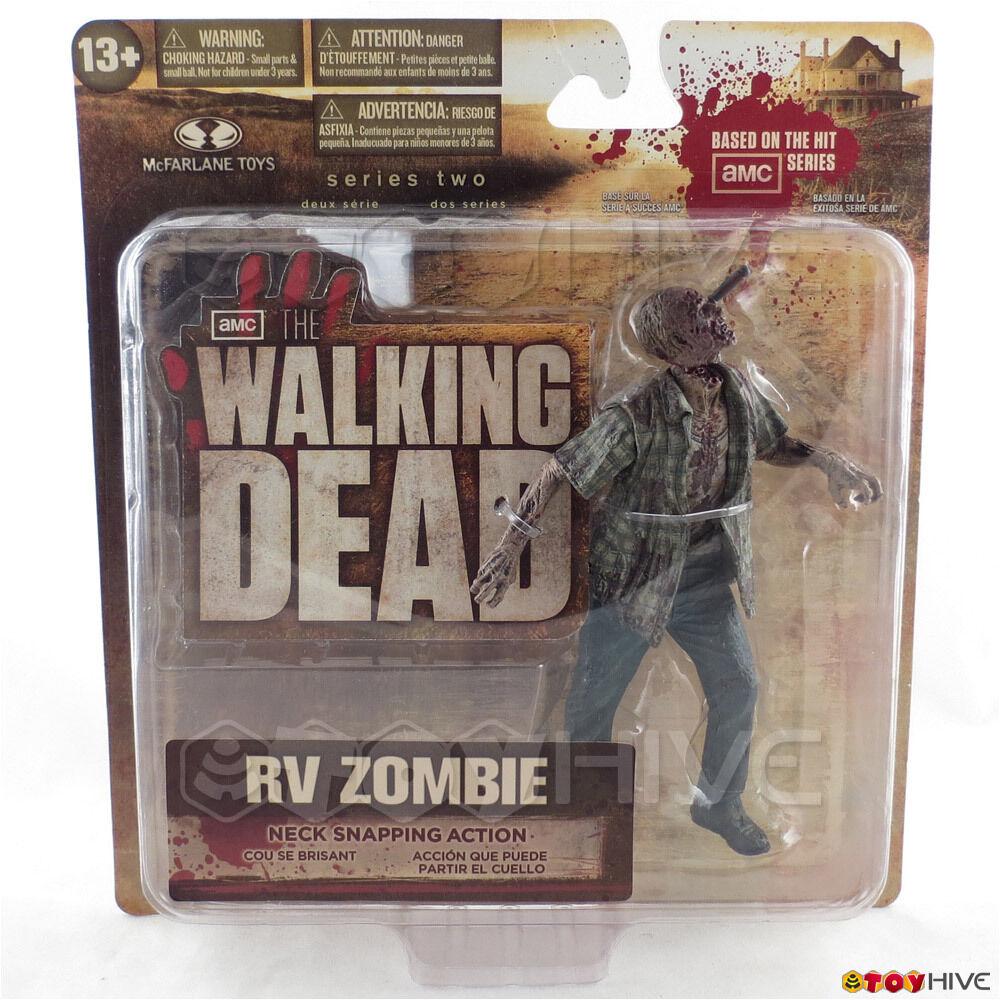 The Walking Dead RV Zombie series 2 walker by Mcfarlane Toys AMC TV tri-lingual