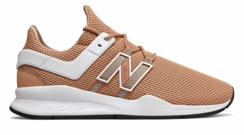 New Balance Men/'s 247V2 Deconstructed Shoes Tan With White