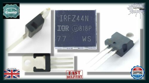 5x IRFZ44N N-Channel Power MOSFET TO-220