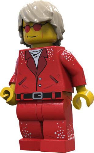 Brick Loot Exclusive Sir Elton Custom LEGO® Minifigure LIMITED EDITION