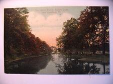 The Silent Waters of Buffalo Creek near Lewisburg PA 1907