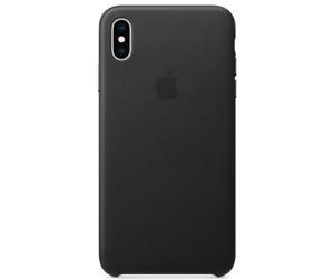 Apple-Echt-Original-Leder-Huelle-Leather-Case-iPhone-XS-5-8-Schwarz