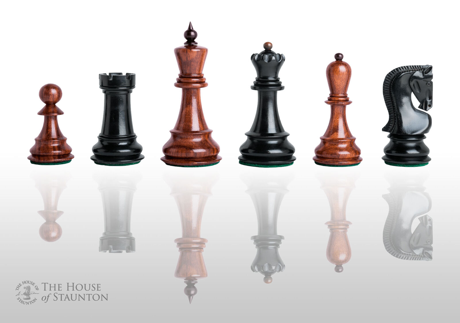 USCF Sales The Zagreb Elite Chess Set - Pieces Only - 3.875  King - oroen rosaw