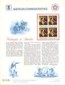 73-13c-Washington-at-Princeton-1704-USPS-Commemorative-Stamp-Panel