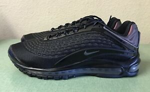 Details about Nike Air Max Deluxe Mens Sz 12 Triple Black Dark Grey Running Shoes 1 95 97 NEW!