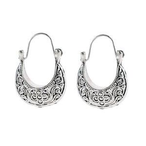 AM-Retro-Women-Carved-Crescent-Moon-Dangle-Drop-Hoop-Earrings-Party-Jewelry
