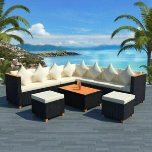 vidaXL-Garden-Sofa-Set-29-Piece-Wicker-Poly-Rattan-Black-WPC-Outdoor-Furniture