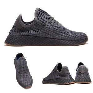 Details about Adidas Originals Deerupt Runner Shoes CQ2627 Grey SIZE 4 13