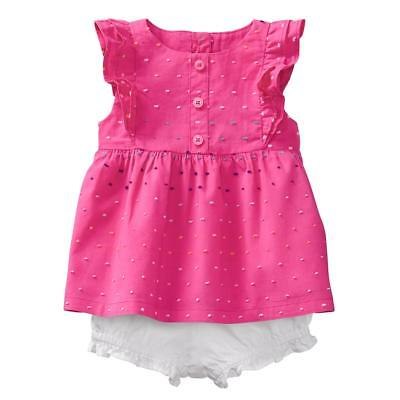 NWT Gymboree Baby Girl 2 pc Dress Bloomers Outfit Set