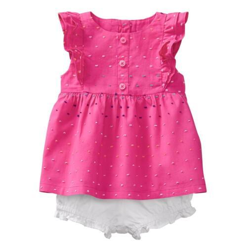 NWT Gymboree Swiss Dots bloomer set  Baby girls pink Many sizes