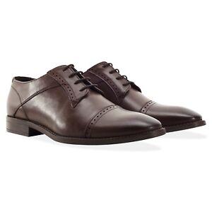 uomo in lana Rrp pelle marroni rossa marrone Uk derby euro Scarpe £ scarpe derby 11 90 in 45 wX8nS