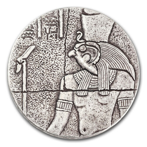 SKU #104136 2016 Republic of Chad 2 oz Silver Horus