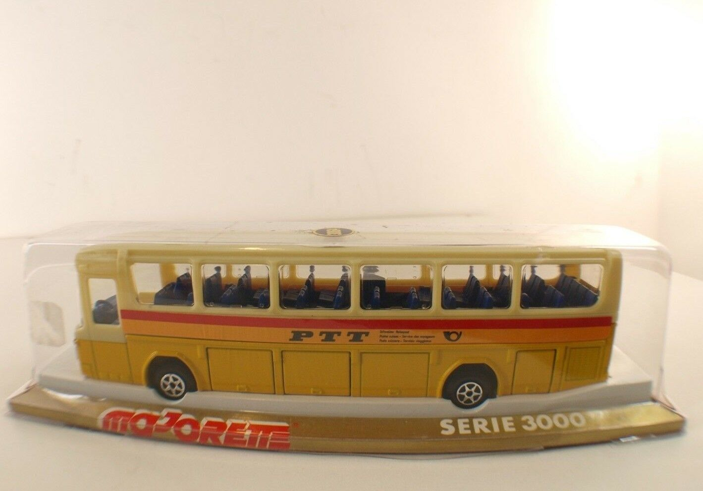 Majorette Serie 3000 buss Mercedes Ptt Suizo Caja   Caja 1  55