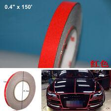 Universal Reflective Sticker Tape Auto Car Body Stripe DIY Self Adhesive 1cmx45m