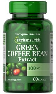 Puritan S Pride Green Coffee Bean Extract 100 Mg 60 Capsules Free Shipping 25077209057 Ebay