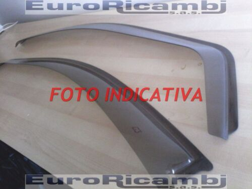 Deflettori aria Antiturbo Antivento PEUGEOT 206 1998-3 porte