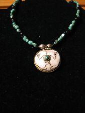 QVC Zuni Design Turquoise Necklace