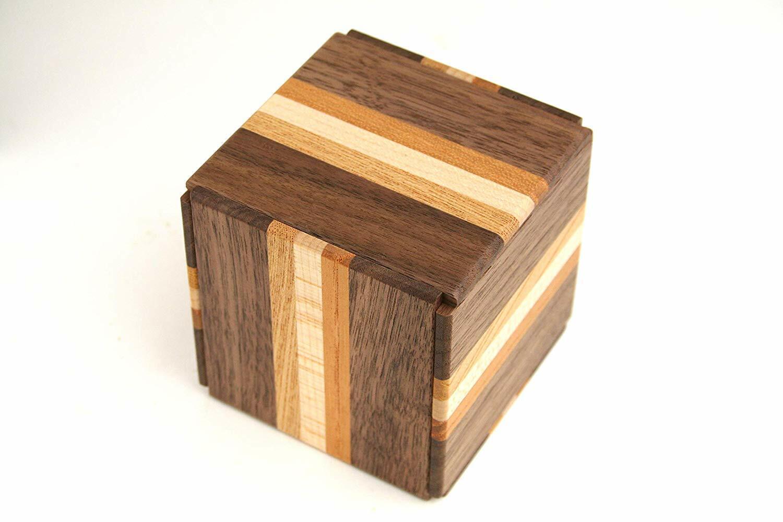 Karakuri Création Groupe  Handmade japonais Nouveau Secret Puzzle Box III  dégagement