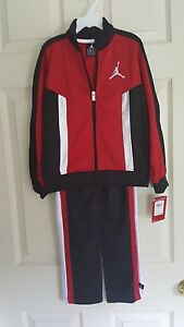 3f9b2e16412 Image is loading Nike-Air-Jordan-Jumpman-2Piece-Tracksuit-Warmup-Red-