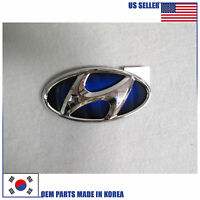 Emblem Trunk Rear H Blue 863004r100 Hyundai Sonata 2011-2014