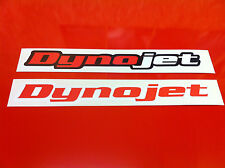 Dynojet Sticker 120mm for Derbi GP50 fairing Stickers Decal Stickers Bike Helmet