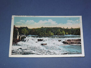 VINTAGE  1900S RAINBOW FALLS AUSABLE CHASM    NEW YORK   POSTCARD