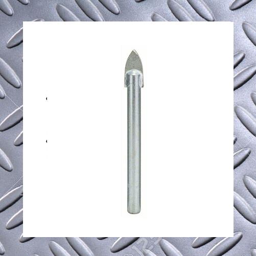 Hartmetall Ø 10 mm Wolfcraft Fliesen- und Glasbohrer für Fliesen//Glas