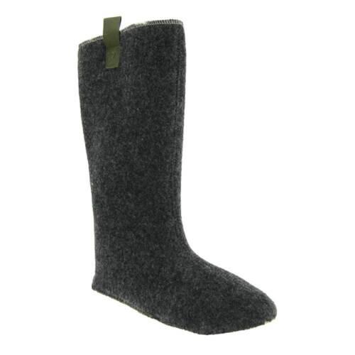 ERSATZ Stiefelsocken Gummistiefel Innenfutter Innenschuhe 100/% Wolle dicker Filz