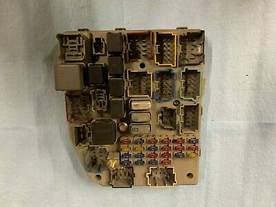 1997-1998 Jeep Grand Cherokee ZJ Interior Fuse Relay Panel ...