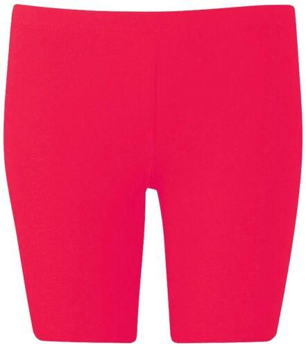 NUOVO Donna PLUS SIZE Active Wear Sportswear CICLISMO Ginocchio Shorts 16-26