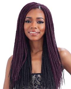 Senegalese Twist Small Freetress Bulk Crochet Braiding Hair