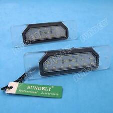 2-Pcs 18-SMD LED License Plate Light For Infiniti M37 2011 2012 2013