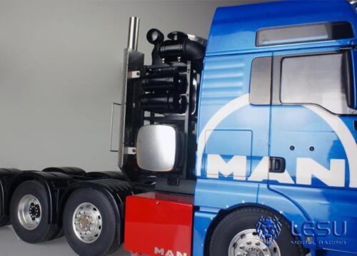 LESU 1//14 Model Tool Metal Heavy Equipment Holder for 1//14 MAN RC Tractors Truck