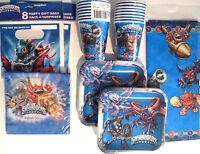 Skylanders : Evergreen - Birthday Party Supply Supply Kit Set W/ Loot Bags