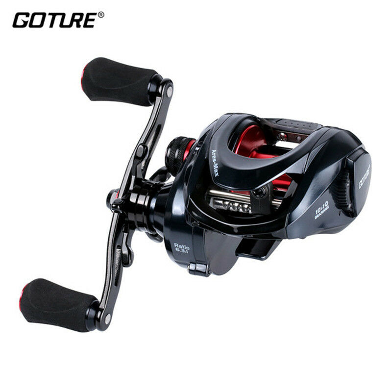 Goture Ares-Max Baitcasting Reel 10+1BB Max Drag 22lbs Saltwater Freshwater   lowest whole network