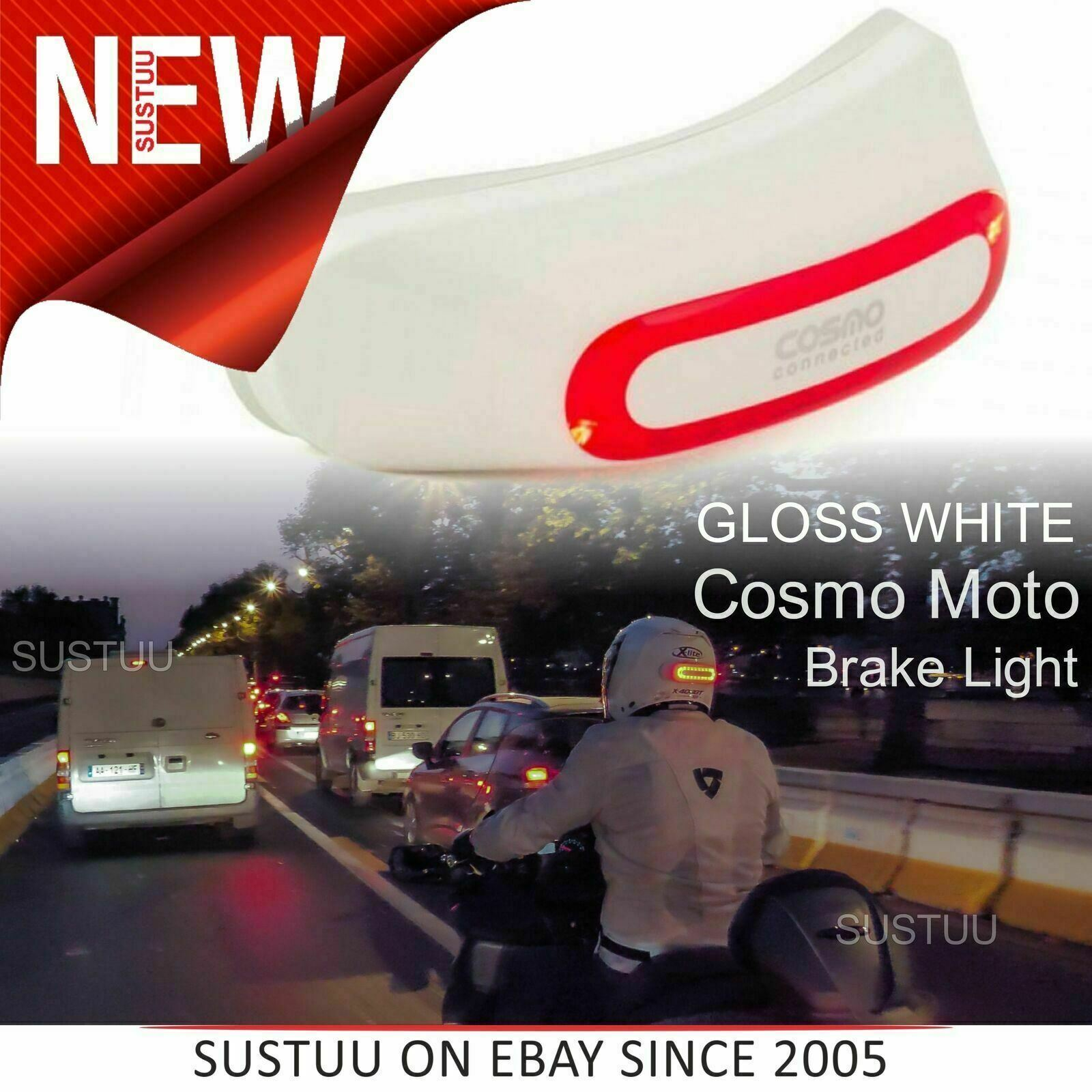 Cosmo Connected Moto│Motorcycle Smart