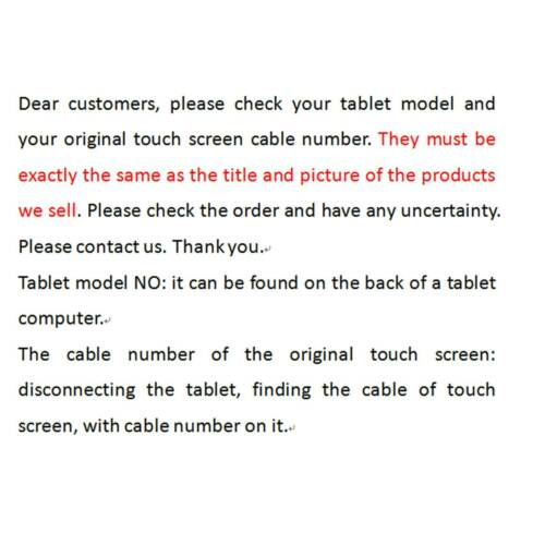 "New touch screen digitizer replacement for 7/"" PIPO X8 Mini PC TV Box"